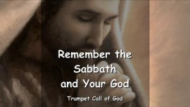 EN1-45 Thus says the Lord - Remember the Sabbath and Your God - Trumpet Call of God