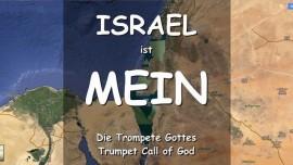 ISRAEL ist MEIN-Waechter blaest die Trompete-den Alarm von Krieg-sagt Der Herr