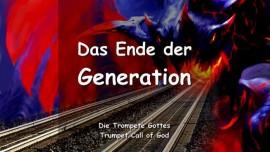 Jesus spricht ueber das Ende dieser Generation