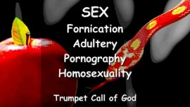 Thus says The Lord about Sex - Adultery - Fornication - Pornography - Homosexuality