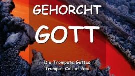 YAHUSHUA SAGT... GEHORCHT GOTT
