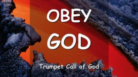 YAHUSHUA SAYS... OBEY GOD