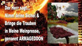 2005-11-02 - Nimm deine Sichel-Ernte-Trauben in die Weinpresse genannt Armageddon-Die Trompete Gottes