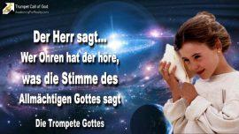 2010-01-21 - Wer Ohren hat der hore, was die Stimme des Allmachtigen Gottes spricht-Die Trompete Gottes