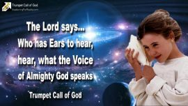 2010-01-21 - Who has Ears to hear, hear, what the Voice of the Almighty God speaks-Trumpet Call of God