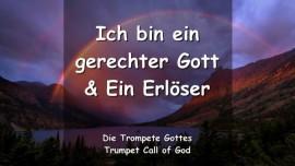 2011-08-20 - Ich bin ein gerechter Gott und ein Erloeser-Trompete Gottes