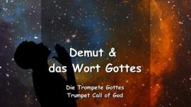 DE1-16 Der Herr spricht ueber Demut und das Wort Gottes-Trompete Gottes