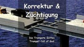 DE1-30 - Der Herr sagt - Ich werde Alle die Ich liebe korrigieren und disziplinieren - Trompete Gottes