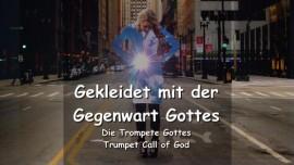 DE1-44 Der Herr sagt - Du wirst gekleidet sein mit der Gegenwart Gottes - Trompete Gottes