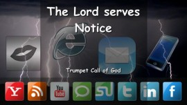 EN1-39 The Lord serves Notice - Trumpet Call of God