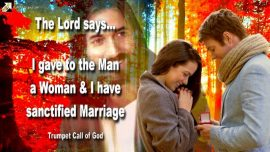 2005-04-08 - God gave the Man a Woman-God gave Marriage and sanctified it-Trumpet Call of God