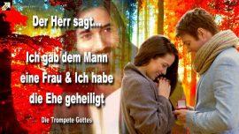 2005-04-08 - Gott gab dem Mann eine Frau-Gott gab die Ehe und hat sie geheiligt-Die Trompete Gottes
