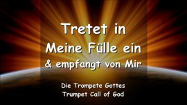 2008-03-20 Tretet in Meine Fuelle ein und empfangt von Mir-Trompete Gottes
