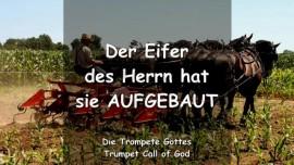 DER EIFER DES HERRN HAT SIE AUFGEBAUT_Trompete Gottes