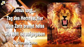 2009-11-20 - Der Tag des Herrn ist da-Zorn Gottes brennt-Die Welt ist aufgegeben-Die Trompete Gottes