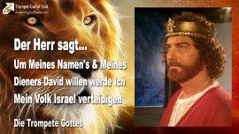 2010-05-31 - Ich werde Mein Volk Israel verteidigen-Um Meines Namens willen-Konig David-Die Trompete Gottes