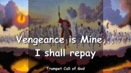2010-06-07 - Vengeance is Mine-I shall repay-Trumpet Call of God-Loveletter from God