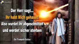 2011-04-25 - Gott Jesus Christus Messias Jehova hassen-Abgeschnitten vom Weinstock-Sterben-Die Trompete Gottes