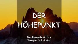 Der Herr spricht ueber den Hoehepunkt-Trompete Gottes