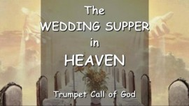 INVITATION from YAHUSHUA to the Wedding Supper in Heaven