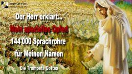 2012-02-19 - Das spezielle Opfer des Herrn-144000 Sprachrohre von Jesus YahuShua YaHuWaH-Trompete Gottes