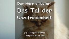 Trompetenruf Gottes-Tal der Unzufriedenheit-Trumpet Call of God Deutsch