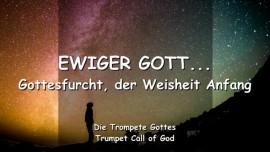 2005-01-20 - Ewiger Gott-Gottesfurcht ist der Weisheit Anfang-Trompetenruf Gottes-Liebesbrief von Gott