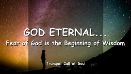 2005-01-20 - God eternal-Fear of God is the Beginning of Wisdom-Trumpet Call of God-Loveletter from God