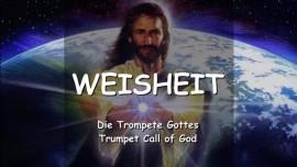Der Herr spricht ueber Weisheit - Trompete Gottes