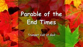 The Lord explains a Parable of the Endtime - Trompete Gottes