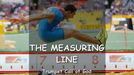 The Lord explains the Measuring Line
