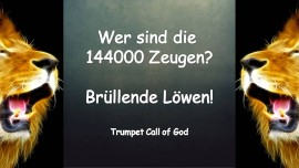 Trompete Gottes - Wer sind die 144000 ZEUGEN