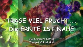 2005-04-21 - Der Herr sagt-Trage viel Frucht-Die Ernte ist nahe-Trompete Gottes-Liebesbrief von Gott