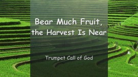 2005-04-21 Trumpet Call of God - The Lord YahuShua says... Bear Much Fruit... The Harvest is Near