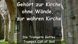 Trompete Gottes - Das sagt Der Herr... Gehoert zur Kirche ohne Waende - Zur Wahren Kirche