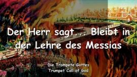 2006-06-28 - In der Lehre des Messias bleiben-Trompete Gottes-Liebesbrief von Gott-Lehre Christi