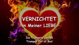 Trompete Gottes-Vernichtet in Meiner Liebe-Ich liebe dich-Liebesbrief von Jesus