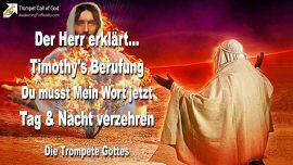 2004-05-12 - Berufung von Timothy-Prophet Gottes-Wort Gottes verschlingen-Tag und Nacht-Die Trompete Gottes