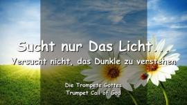 2004-11-14 - Der Herr sagt-Sucht nur das Licht-Versucht nicht das Dunkle zu verstehen-Trompete Gottes-Liebesbrief von Gott
