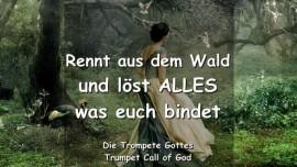 2004-12-23 - Der Herr sagt-Rennt aus dem Wald und loest alles was euch bindet-Die Trompete Gottes-Liebesbrief von Gott