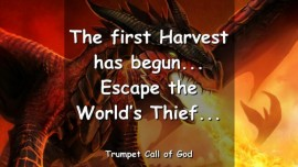 2005-09-04 - ESCAPE THE WORLDs THIEF-THE FIRST HARVEST HAS BEGUN-TRUMPET CALL OF GOD