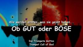 2005-07-08 - Alle werden ernten was sie gesaet haben ob Gut oder boese-Trompete Gottes-Liebesbrief von Gott