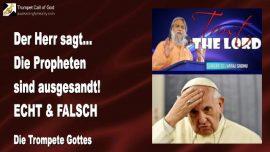 2007-09-29 - Der Herr sagt-Die Propheten sind ausgesandt-Echte Propheten-Falsche Propheten-Trompete Gottes