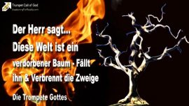 2006-04-17 - Diese WElt ist ein verdorbener Baum-Baum umhauen und Zweige verbrennen-Die Trompete Gottes