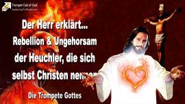 2011-08-20 - Ungehorsam Rebellion der Heuchler die sich Christen nennen-Die Trompete Gottes