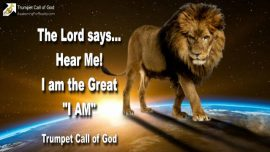 2005-04-10 - Listen to Jesus Christ-I am the great I am Lion of Judah-Trumpet Call of God