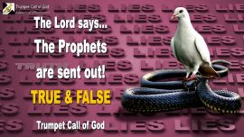 2007-09-29 - True False Prophets are sent out-Lies-Truth-Churches-Trumpet Call of God
