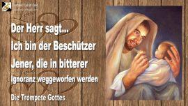 2004-10-20 - Gott ist Beschuetzer-Ignoranz-Abtreibung-Die Trompete Gottes-Liebesbrief von Jesus-1280