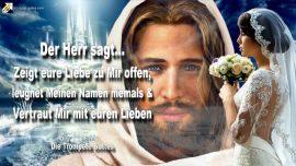 2010-06-10 - Liebe zu Jesus offen zeigen-Jesu Namen nicht leugnen-Familie Verwandte Vertrauen-Trompete Gottes