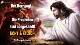 2007-09-29 - Die Propheten sind ausgesandt-Echte Propheten-Falsche Propheten-Die Trompete Gottes